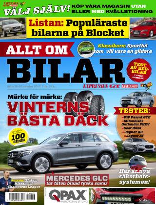 Allt om Bilar (Inga nya utgåvor) 2015-10-16