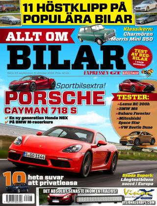 Allt om Bilar (Inga nya utgåvor) 2016-09-23