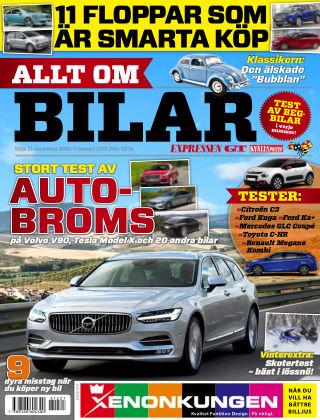 Allt om Bilar (Inga nya utgåvor) 2016-12-21