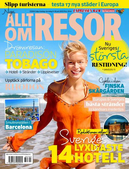 Allt om Resor July 05, 2013 00:00