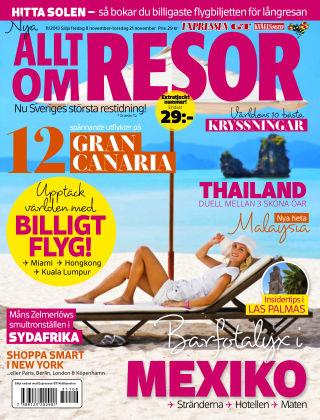 Allt om Resor 2013-11-08