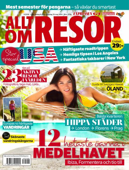 Allt om Resor May 06, 2014 00:00
