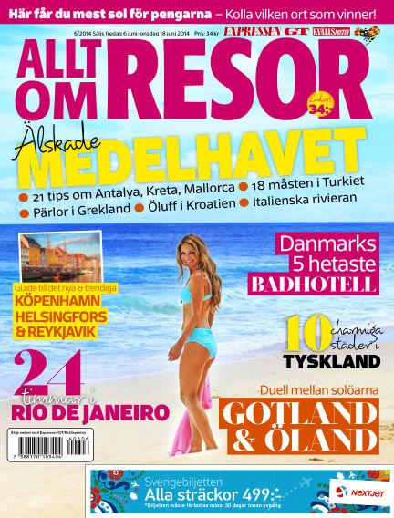 Allt om Resor June 06, 2014 00:00