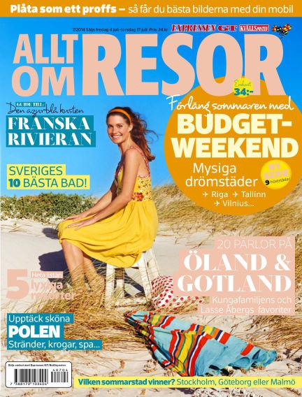 Allt om Resor July 04, 2014 00:00