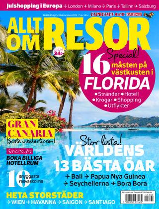 Allt om Resor 2014-12-05