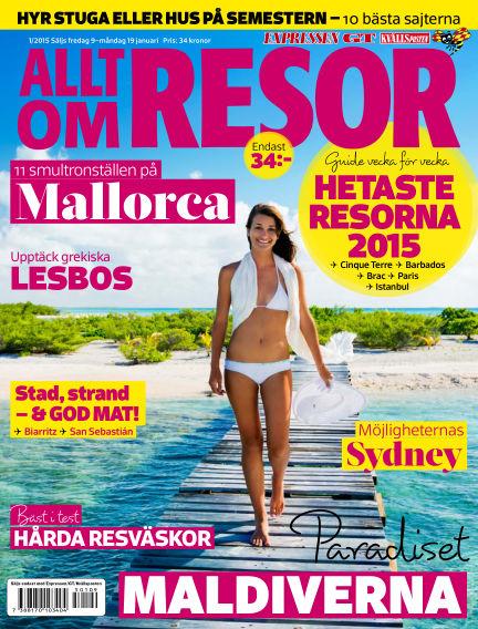 Allt om Resor January 09, 2015 00:00