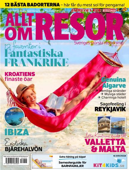 Allt om Resor June 03, 2015 00:00
