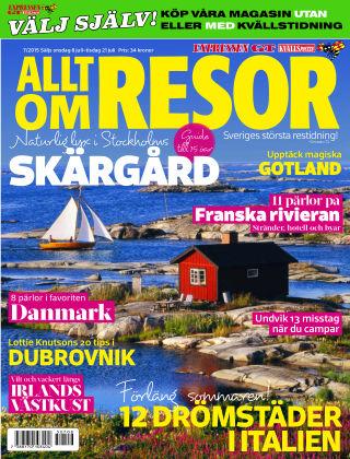 Allt om Resor 2015-07-08
