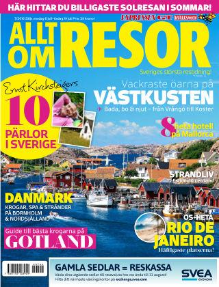 Allt om Resor 2016-07-06