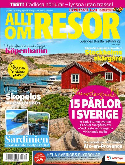 Allt om Resor July 11, 2017 00:00