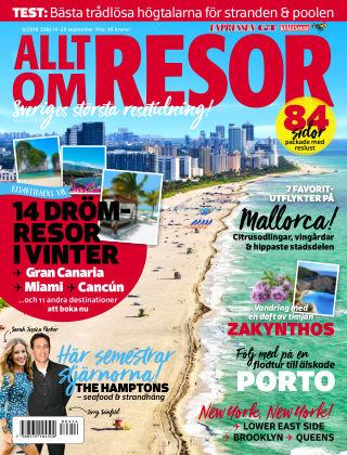 Allt om Resor 2018-09-14