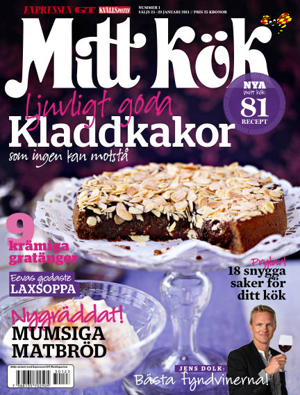 Mitt Kök January 23, 2013 00:00