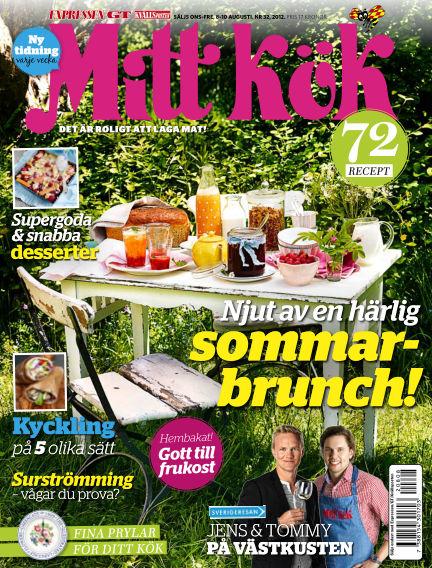 Mitt Kök August 08, 2012 00:00