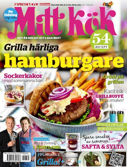 Mitt Kök July 25, 2012 00:00