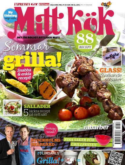 Mitt Kök June 27, 2012 00:00