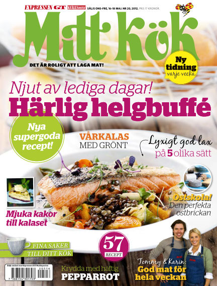 Mitt Kök May 16, 2012 00:00