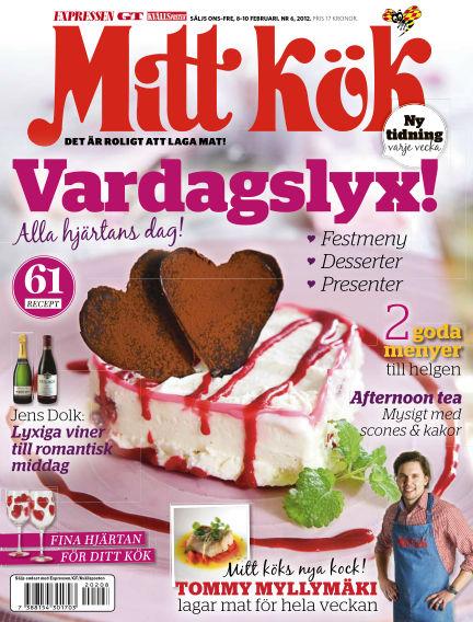 Mitt Kök February 08, 2012 00:00