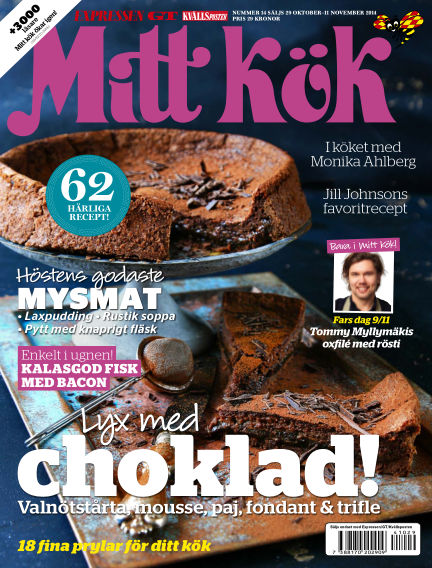 Mitt Kök October 29, 2014 00:00