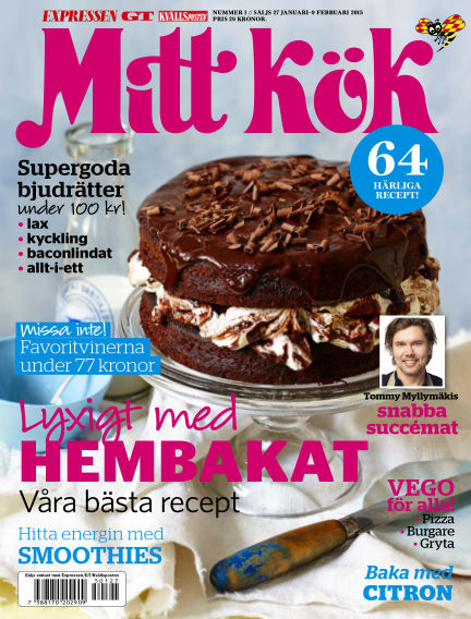 Mitt Kök January 27, 2015 00:00