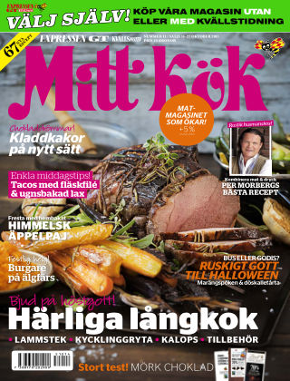 Mitt Kök 2015-10-14