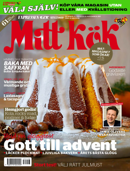 Mitt Kök November 13, 2015 00:00