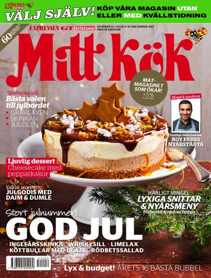 Mitt Kök December 09, 2015 00:00