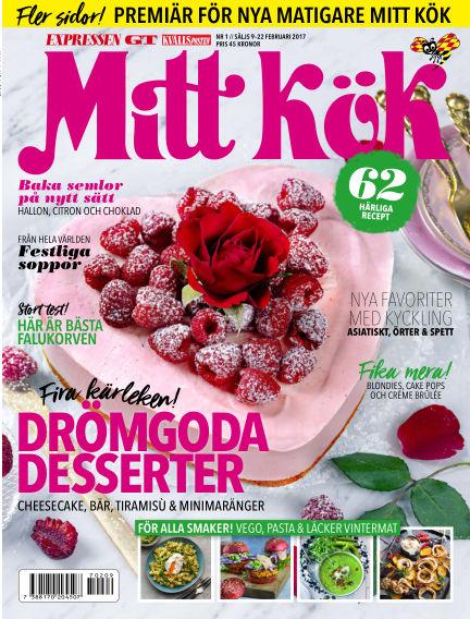 Mitt Kök February 09, 2017 00:00