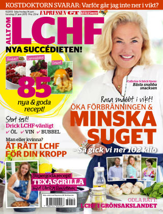 Allt om LCHF (Inga nya utgåvor) 2013-06-14