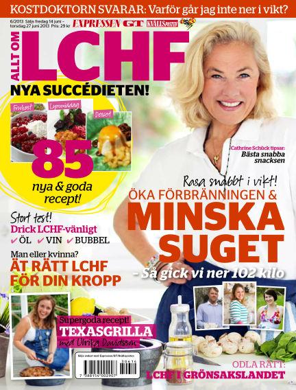 Allt om LCHF (Inga nya utgåvor) June 14, 2013 00:00