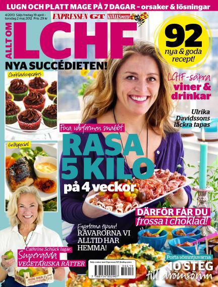 Allt om LCHF (Inga nya utgåvor) April 19, 2013 00:00