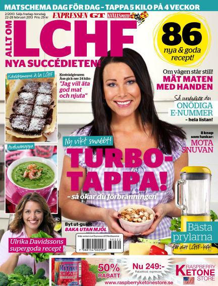 Allt om LCHF (Inga nya utgåvor) February 22, 2013 00:00