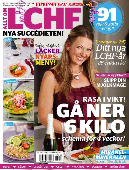 Allt om LCHF (Inga nya utgåvor) December 28, 2012 00:00