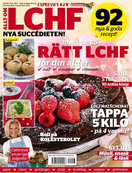 Allt om LCHF (Inga nya utgåvor) November 23, 2012 00:00