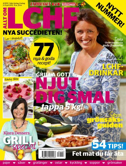 Allt om LCHF (Inga nya utgåvor) July 03, 2012 00:00