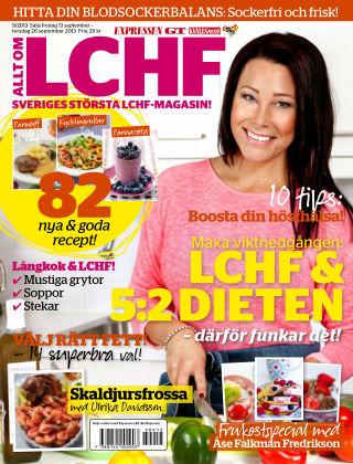 Allt om LCHF (Inga nya utgåvor) 2013-09-13