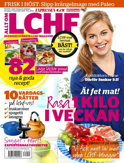 Allt om LCHF (Inga nya utgåvor) October 25, 2013 00:00