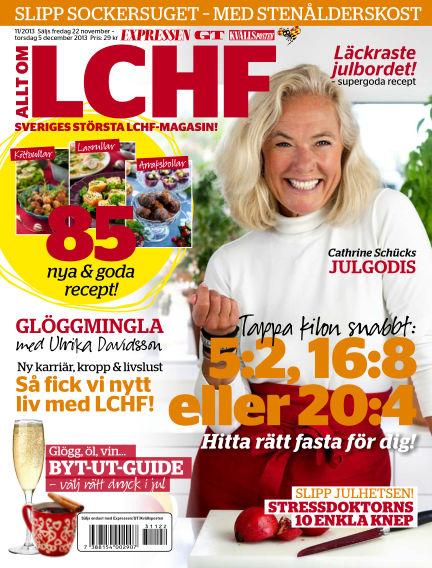 Allt om LCHF (Inga nya utgåvor) November 22, 2013 00:00