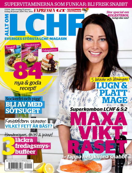 Allt om LCHF (Inga nya utgåvor) January 15, 2014 00:00