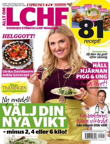 Allt om LCHF (Inga nya utgåvor) February 21, 2014 00:00