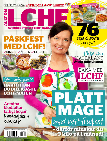 Allt om LCHF (Inga nya utgåvor) March 25, 2014 00:00
