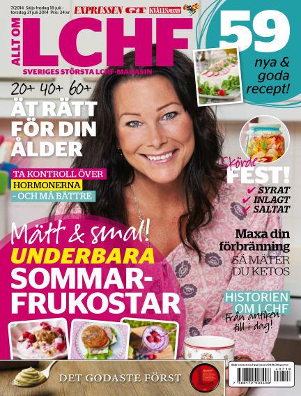 Allt om LCHF (Inga nya utgåvor) July 18, 2014 00:00