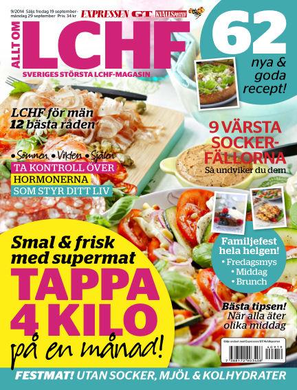 Allt om LCHF (Inga nya utgåvor) September 19, 2014 00:00