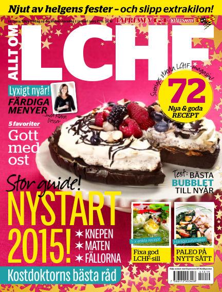 Allt om LCHF (Inga nya utgåvor) December 19, 2014 00:00