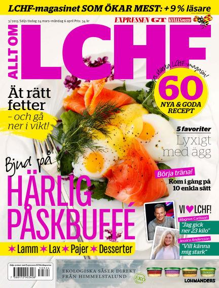 Allt om LCHF (Inga nya utgåvor) March 24, 2015 00:00