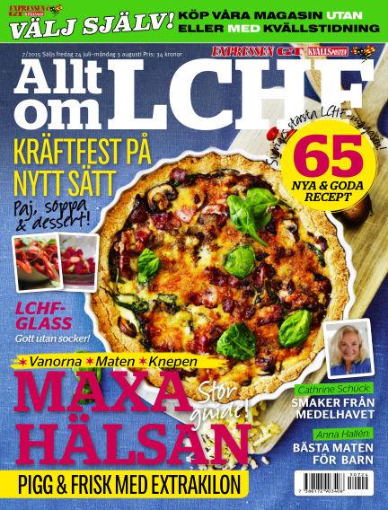 Allt om LCHF (Inga nya utgåvor) July 24, 2015 00:00
