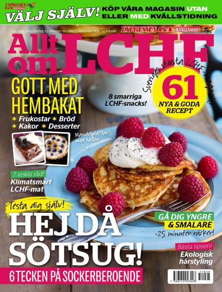 Allt om LCHF (Inga nya utgåvor) October 23, 2015 00:00
