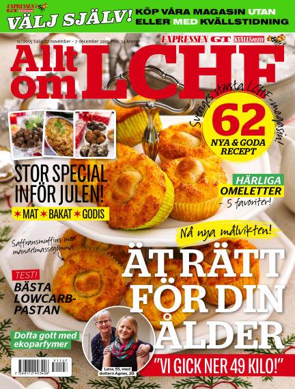Allt om LCHF (Inga nya utgåvor) November 27, 2015 00:00