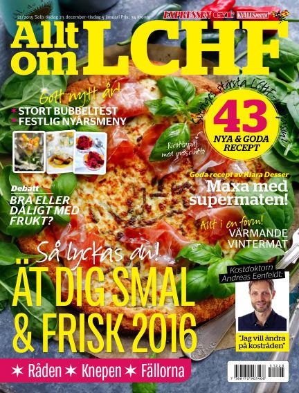 Allt om LCHF (Inga nya utgåvor) December 23, 2015 00:00