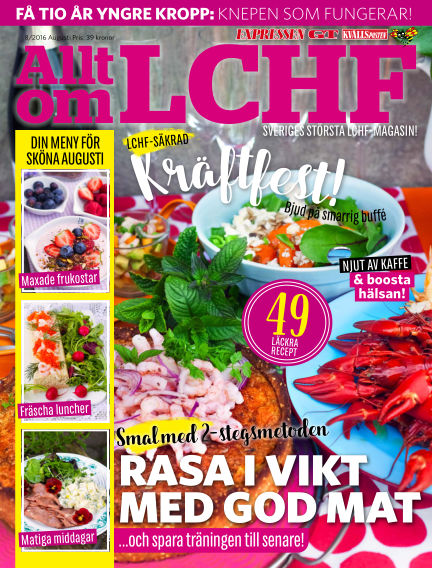 Allt om LCHF (Inga nya utgåvor) August 05, 2016 00:00