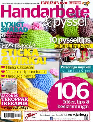 Handarbete & Pyssel (Inga nya utgåvor) 2013-10-23